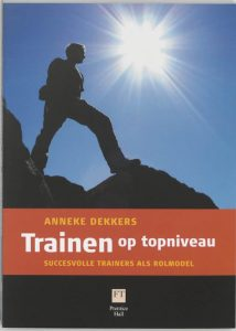 Trainen op topniveau. Relevante literatuur voor het traingingsvak. Goedvolk in training